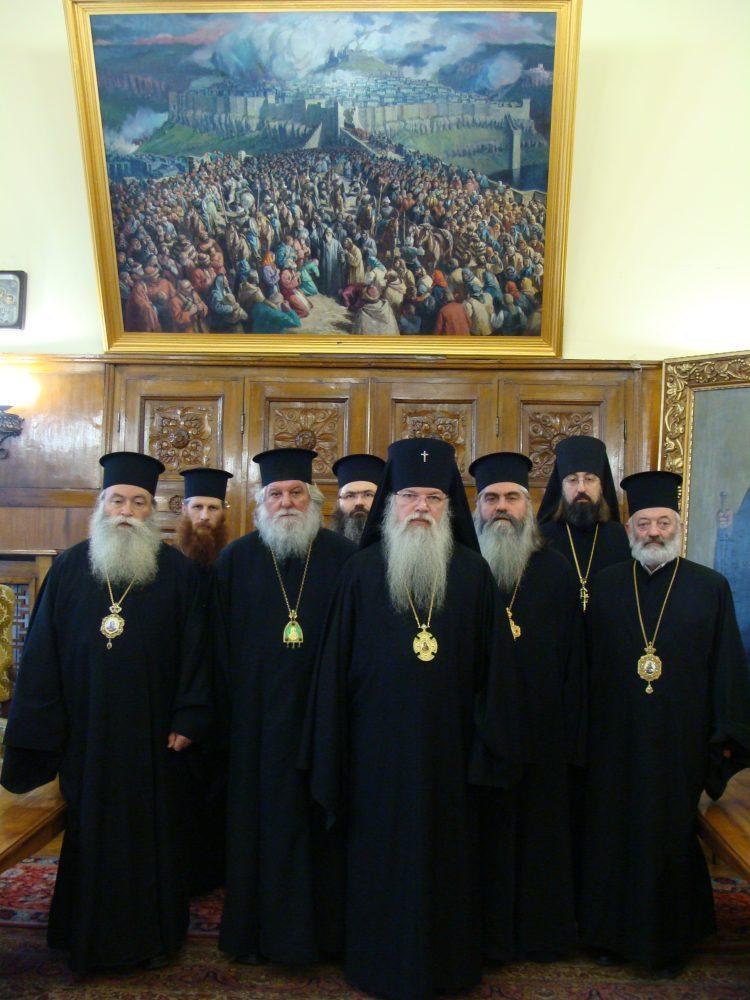2011-12-01 Состоялась встреча архиеп. Костромского и Галичского Алексия с членами Св. Синода БПЦ
