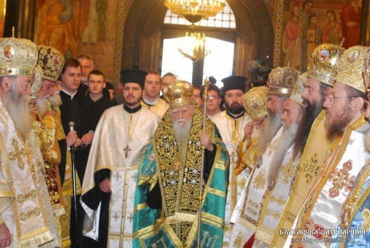 2012-01-12 Служба в день тезоименитства Святейшего Патриарха Болгарского Максима