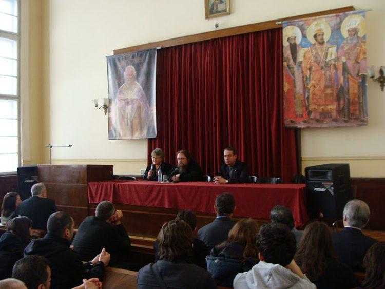 2012--01-27 протодиакон Андрей Кураев на богословском факультете