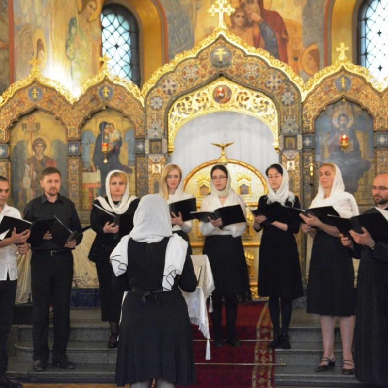 концерт хора Патриаршего Подворья