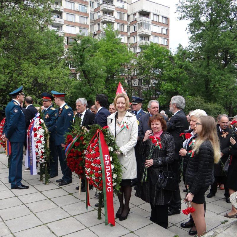 лития у памятника советским войнам 1а