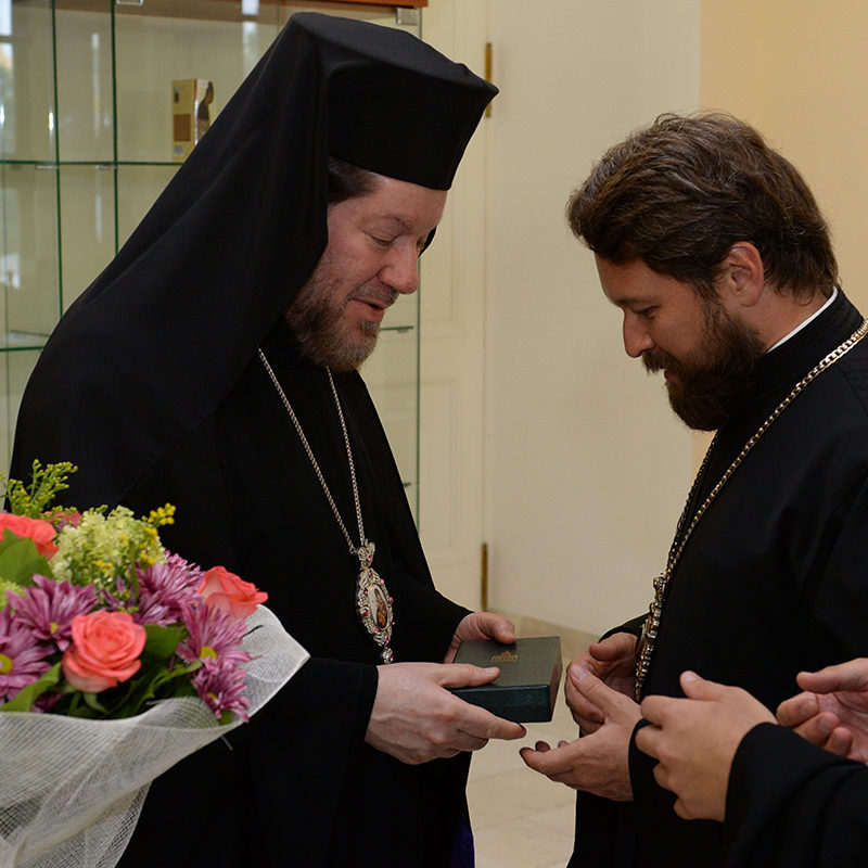 Юбилей митрополита Илариона Алфеева